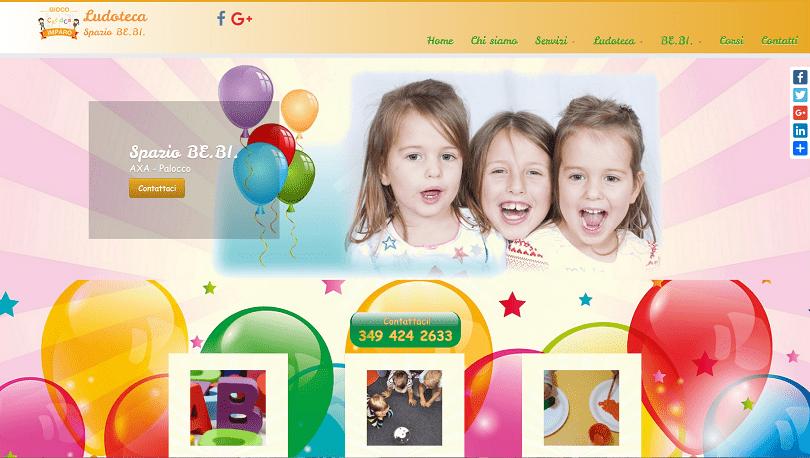 posizionamento siti internet roma ludoteca spazio ba.bi.