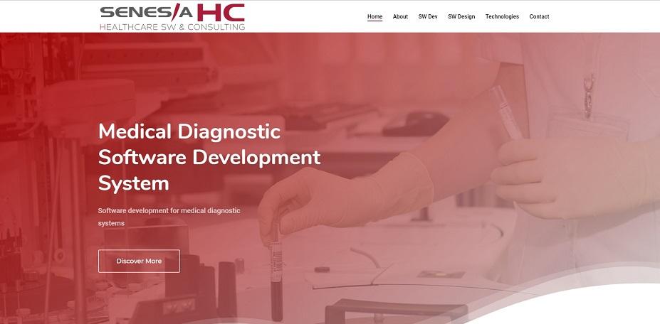 SEO Consultancy for SENESIA HC, Medical-Diagnostic-Software-Development