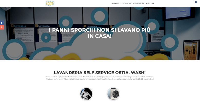 posizionamento sito web lavanderia ostia