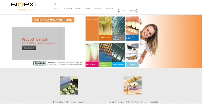 simex-italia-posizionamento-siti-internet-prodotti-dentali