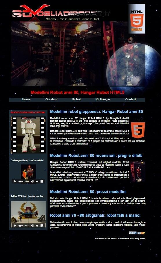 siti html5 css3 esempi