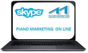 piano marketing online, formazione skype