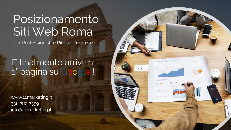 Posizionamento Google Roma. Posizionamento SEO, Roma, Posizionamento Siti Web Roma