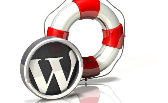homepage sito wordpress bianca