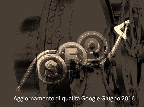 Aggiornamento algoritmo Google Maggio 2016