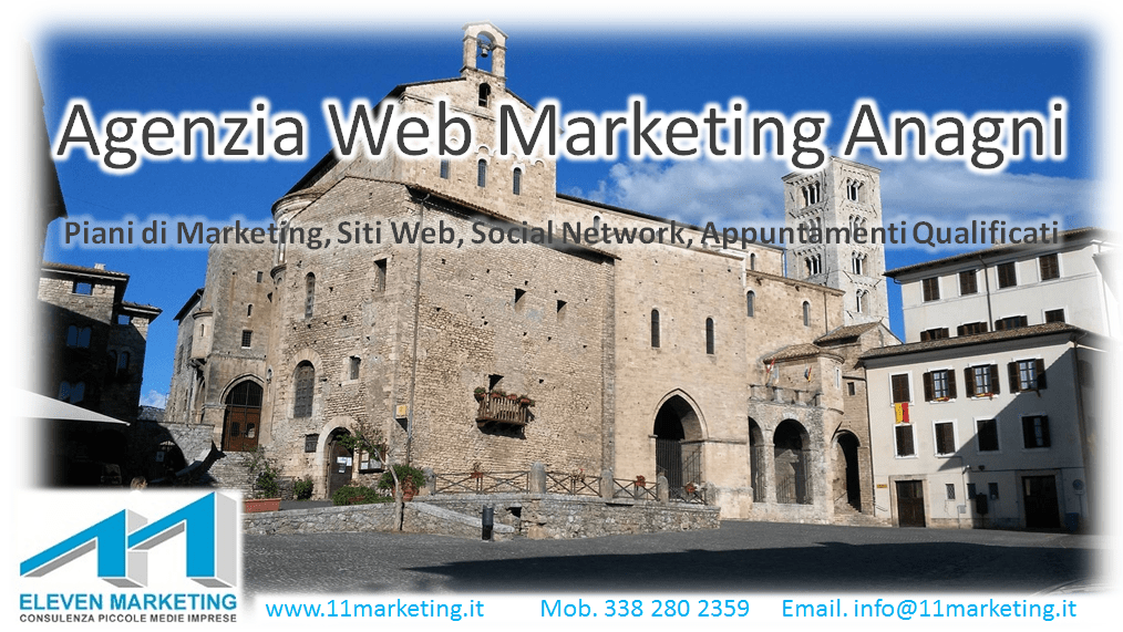 agenzia web marketing Anagni