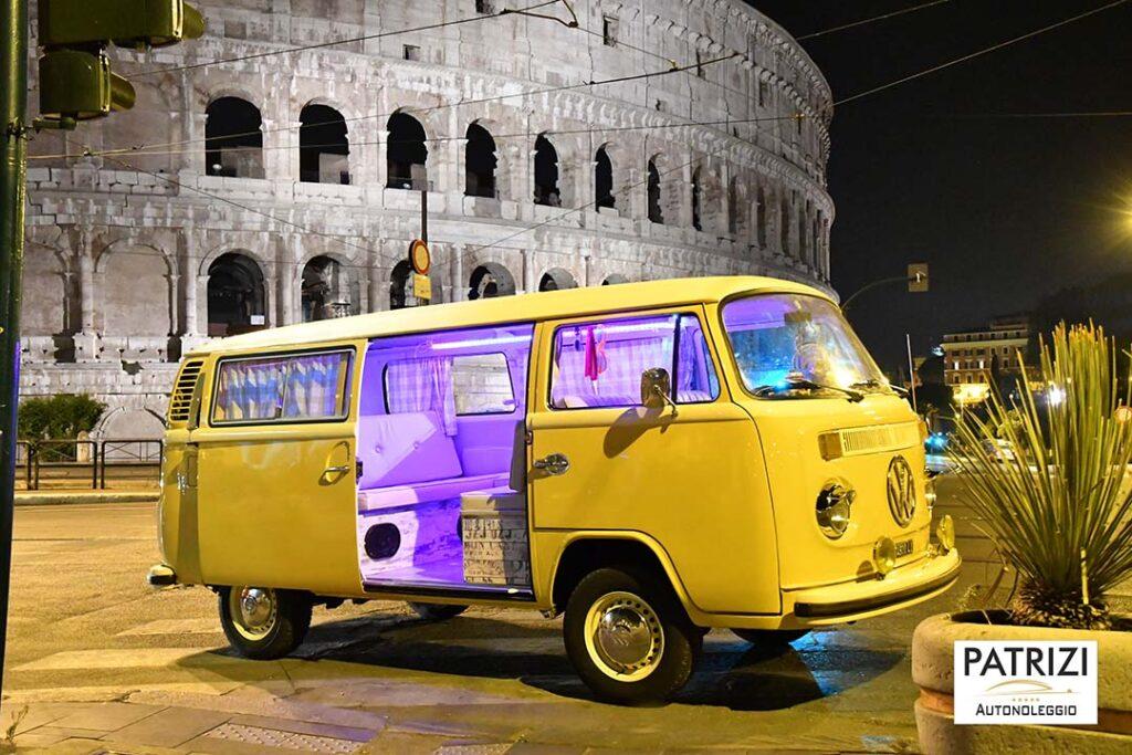Noleggio pulmino vintage Roma