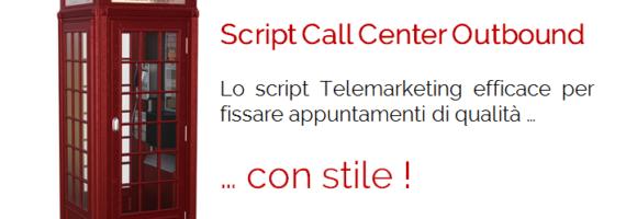 script call center outbound