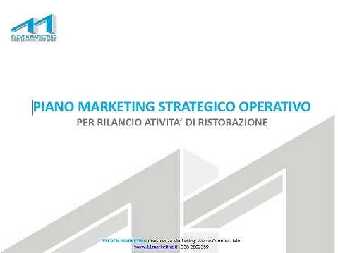 marketing plan ristorazione