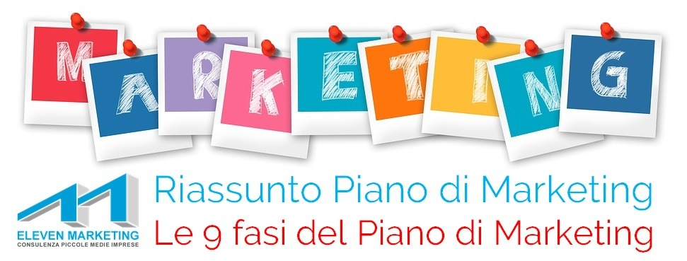 piano marketing riassunto