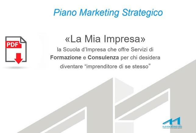 piano marketing strategico scuola di formazione