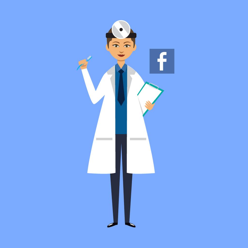 facebook per studi medici