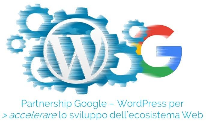 partnership google wordpress
