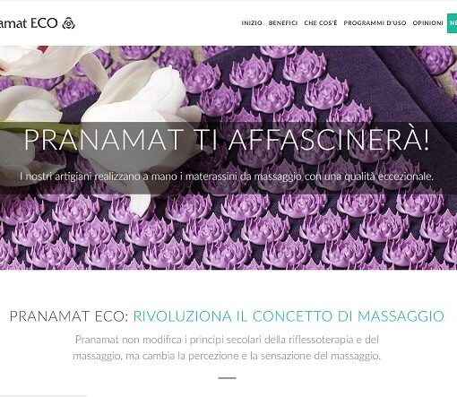 Analisi SEO sito web tappetini massaggianti