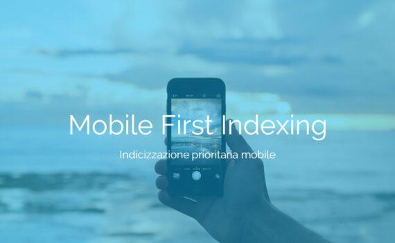Incremento indicizzazione mobile su più siti