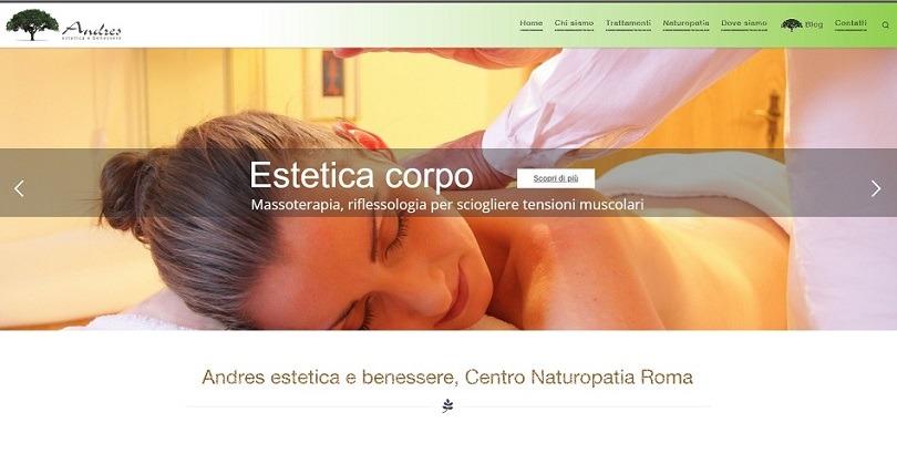 centro naturopatia Roma - estetica e benessere Andres