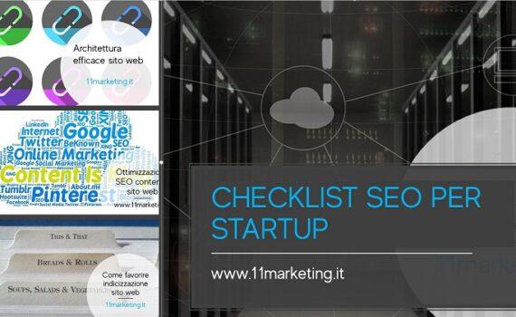 checklist SEO per startup