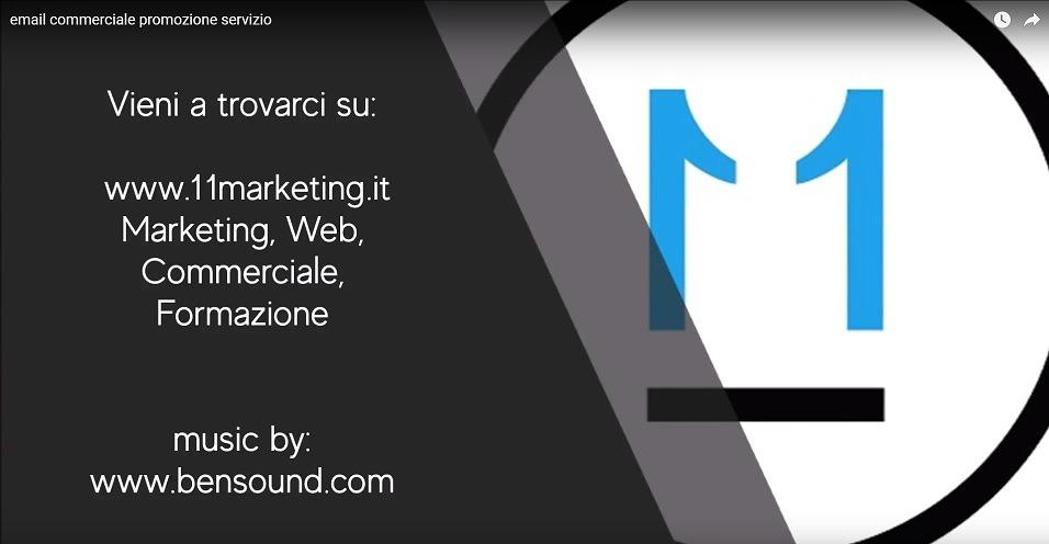 esempio email promozionale video