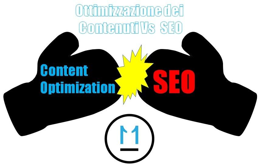 ottimizzazione dei contenuti vs SEO