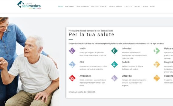 Consulenza marketing sanitario Gruppo Sanimedica