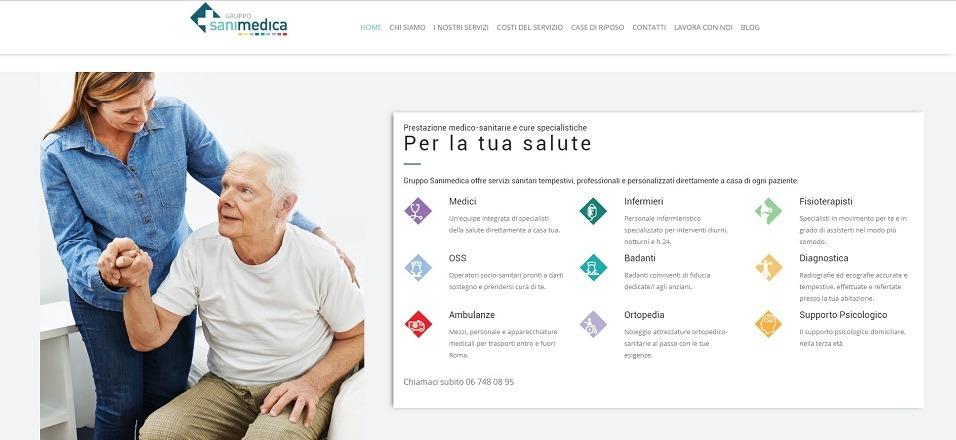 Consulenza marketing sanitario Gruppo Sanimedica