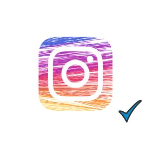 spunta blu instagram