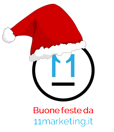 Buon Natale 2018 e bon anno nuovo da ELEVEN MARKETING