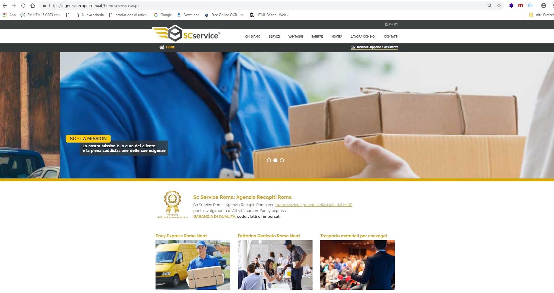 posizionamento siti web roma