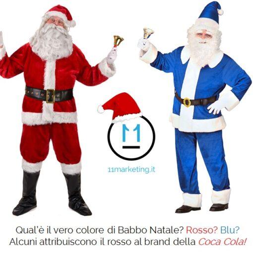 qual'è il vero colore di Babbo Natale