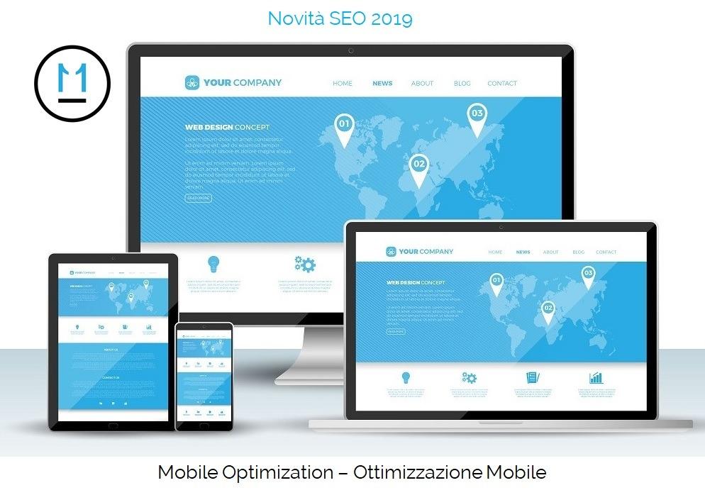 SEO e ottimizzazione mobile, mobile optimization