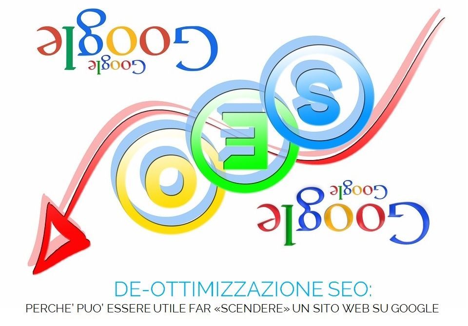 Deottimizzazione SEO sito web