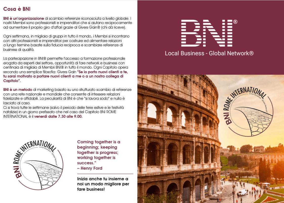 Evento Referral Marketing Roma