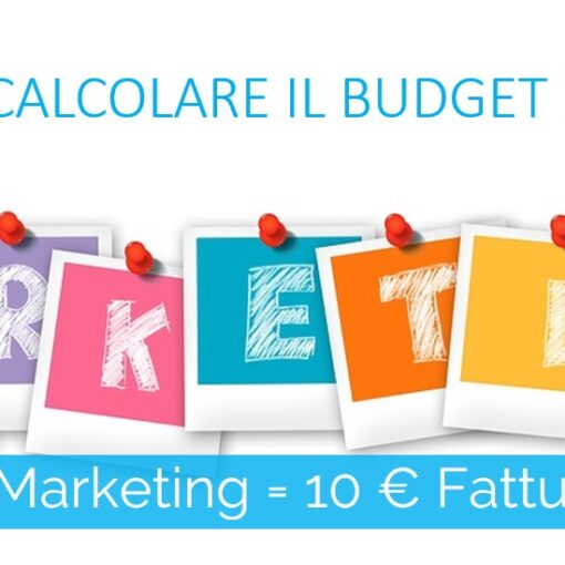 come calcolare il budget marketing