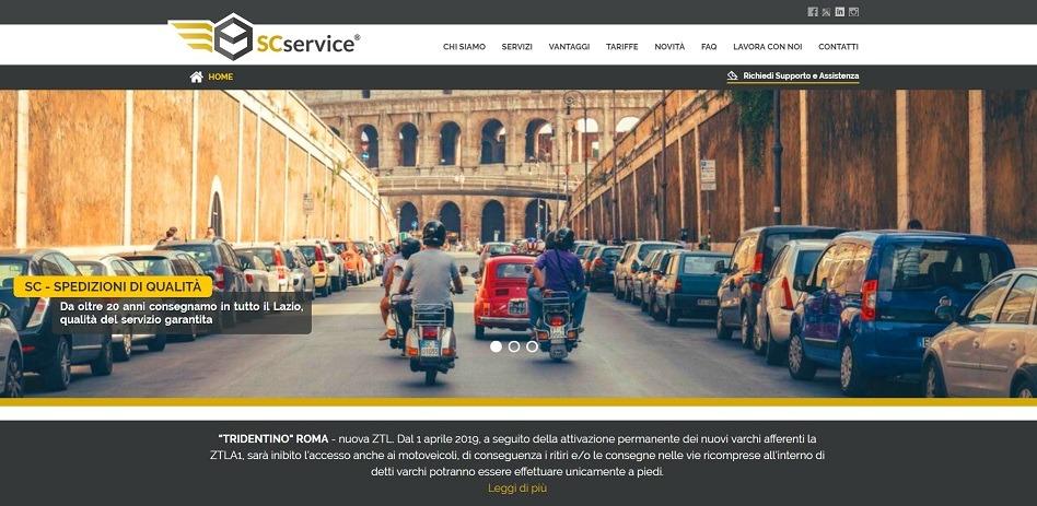Agenzia Recapiti Roma, posizionamento siti web pony express