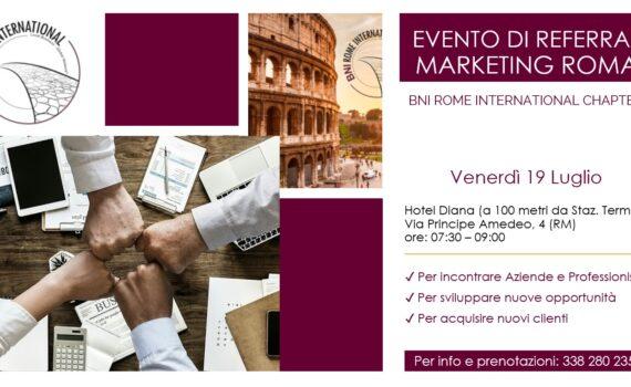 eventi di referral marketing Roma