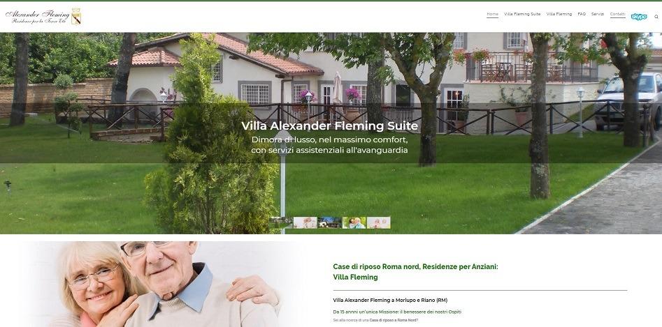 Primi su Google, posizionamento siti web Residenze per anziani