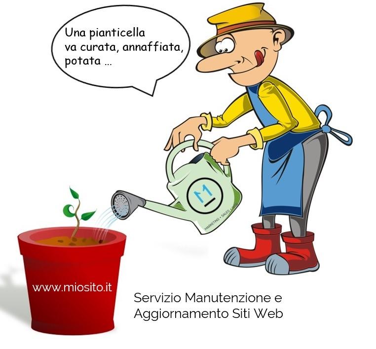 Servizio Manutenzione Aggiornamento Siti Web