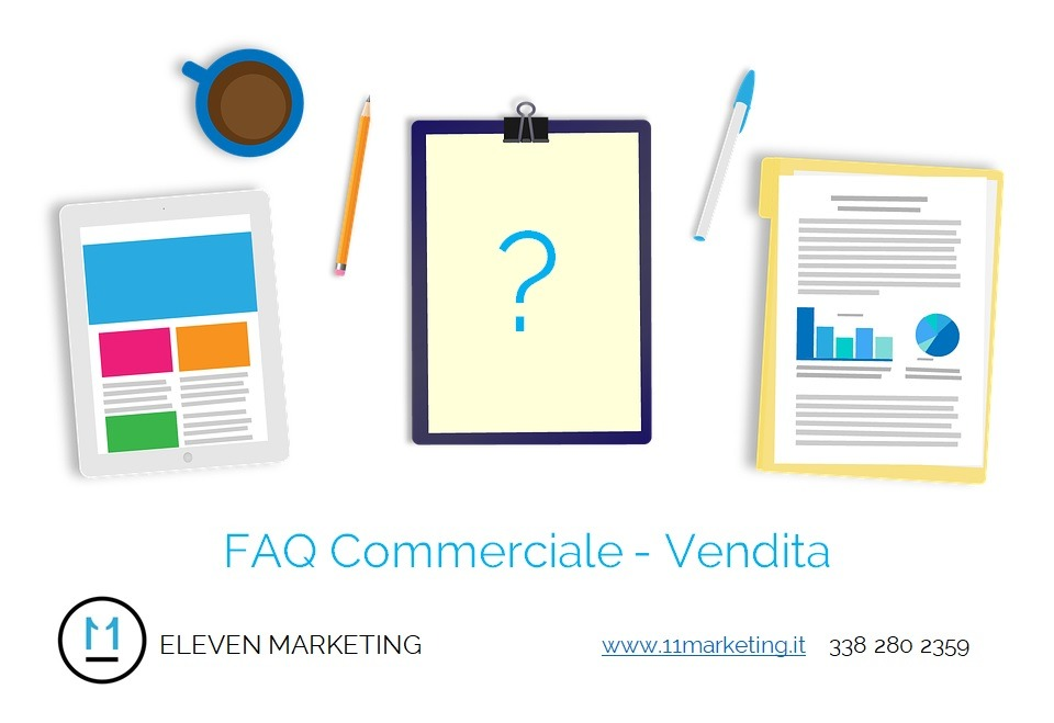 FAQ Commerciale Vendita