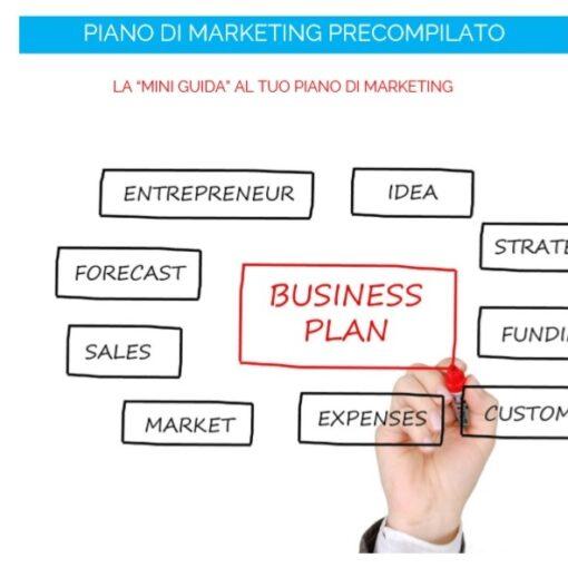 Piano Marketing da compilare, mini guida al piano di Marketing PDF