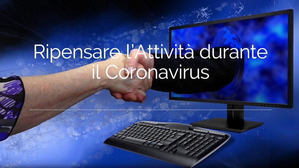 Ripensare l'Attività durante il Coronavirus