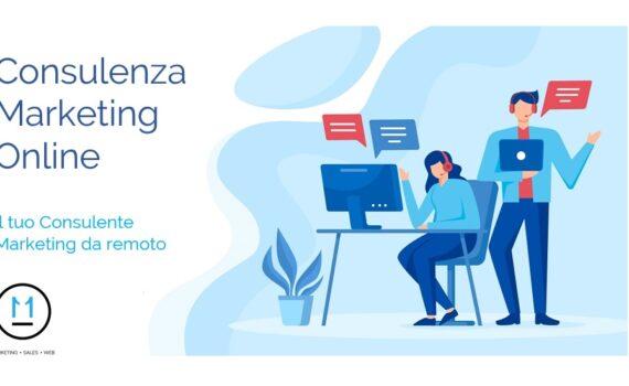 Servizio Consulenza Marketing Online, Consulente Marketing da remoto