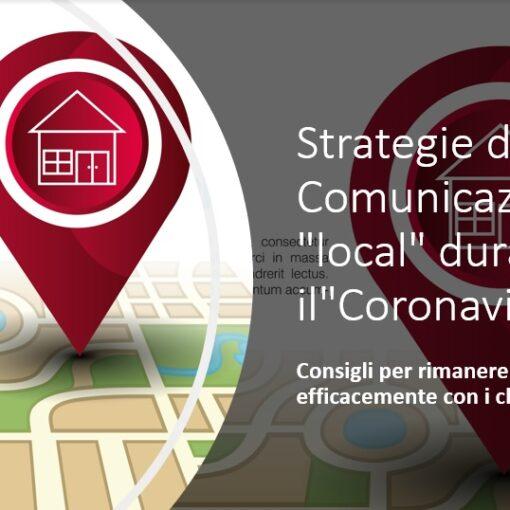 Strategie di Comunicazione local durante il Coronavirus