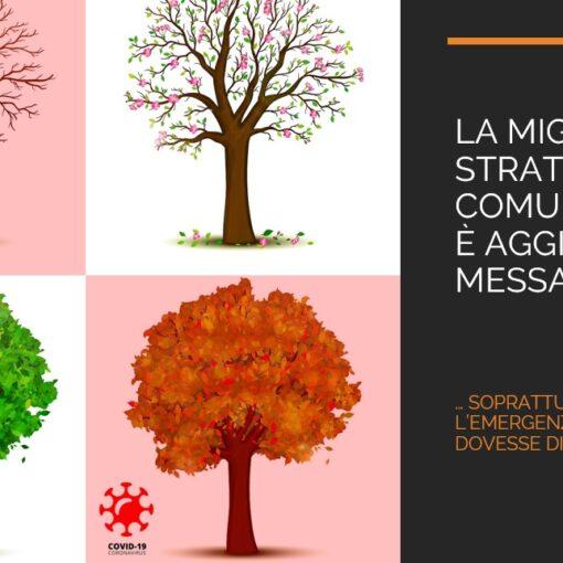La migliore strategia di Comunicazione è aggiornare il messaggio