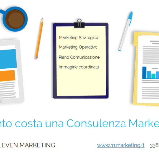 consulenza marketing costo