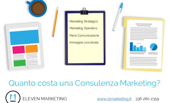 consulenza marketing costo