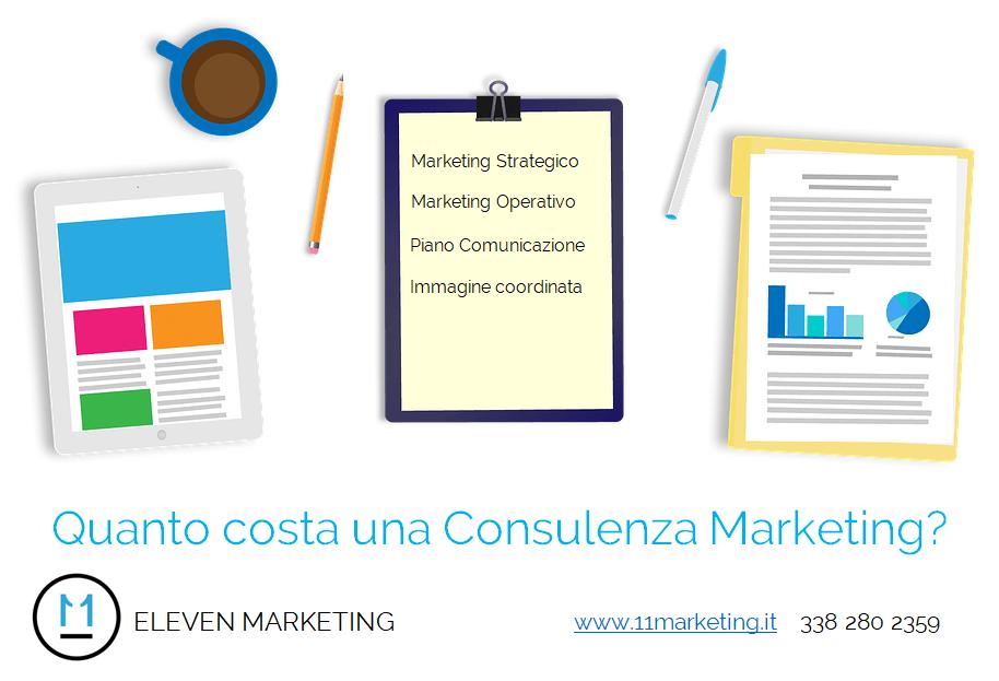 consulenza marketing costo, quanto costa una consulenza marketing