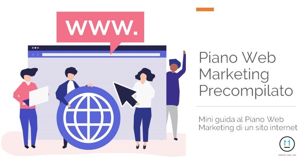 Piano Web Marketing Precompilato, Guida PDF Piano Web Mareketing