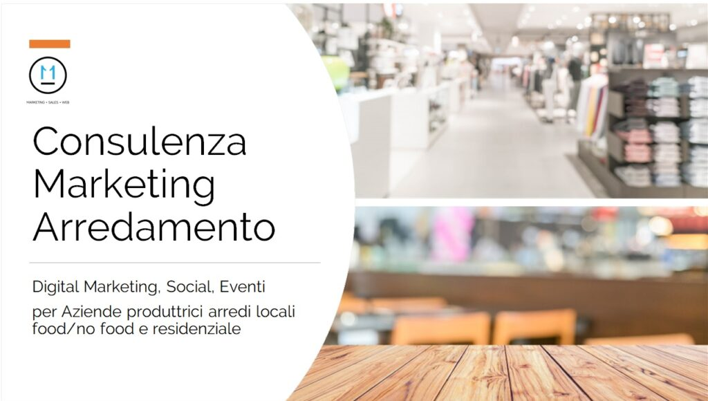 Consulenza Marketing Arredamento: Digital Marketing, Social, Eventi