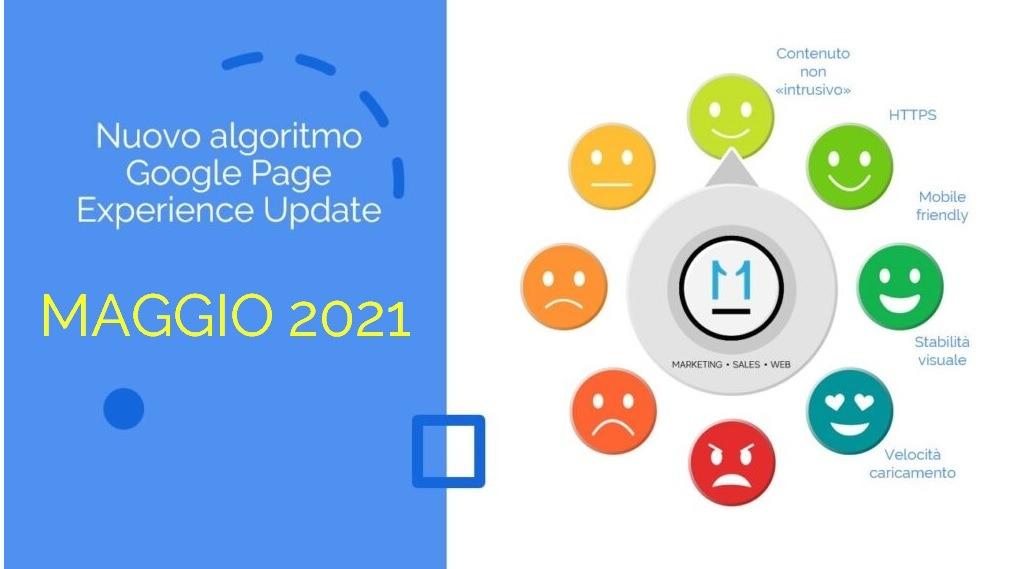 Google Page Experience Update lancio Maggio 2021