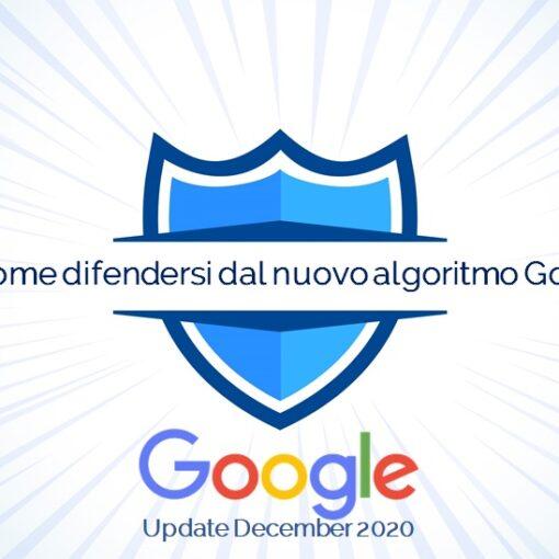 Come difendersi dagli algoritmi di Google?